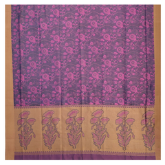 PURPLE SILK KANJEEVARAM SOFT SILK SAREE