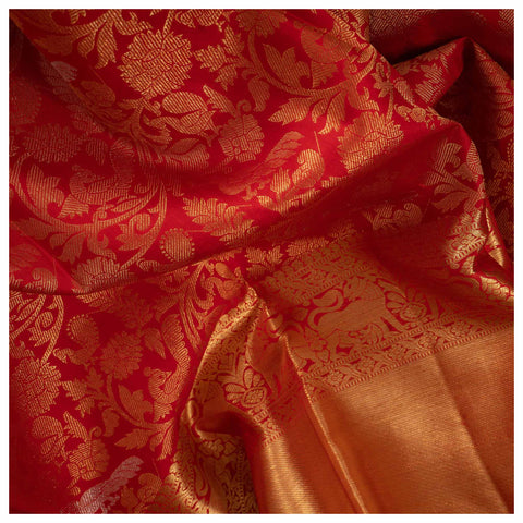 RED KANJEEVARAM SILK SAREE
