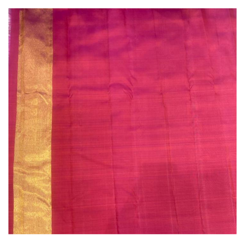WINE KANJEEVARAM SILK SAREE,