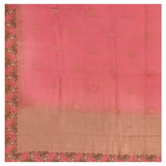 PINK MOONGA DESIGNER SAREE