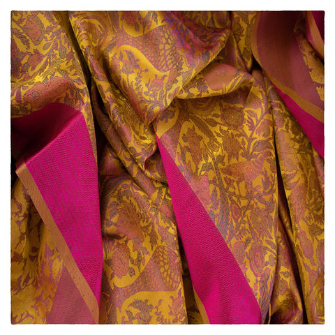 YELLOW KANJEEVARAM SILK SAREE