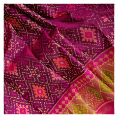 WINE PATOLA SILK SAREE,