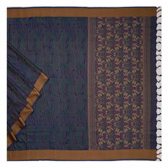 BLUE KANJEEVARAM SILK SAREE,