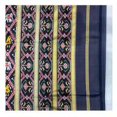 BLACK PATOLA SILK SAREE,
