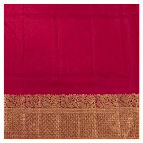 BROWN SILK UPPADDA SAREE