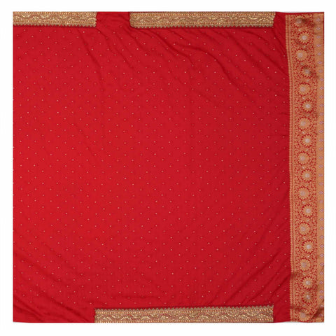RED DESIGNER SILK SAREES
