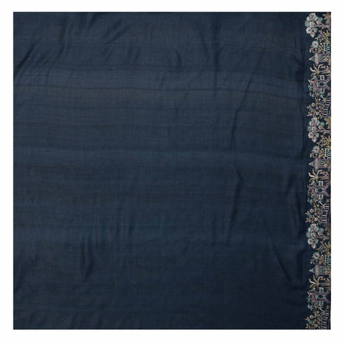 BLUE COTTON TUSSAR SAREES,