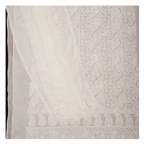 WHITE GEORGETTE SUITS