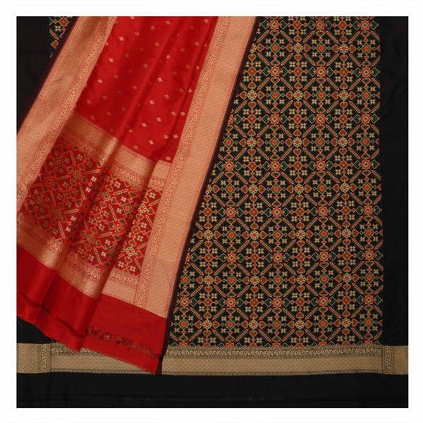 BLACK BANARSI SILK SUITS