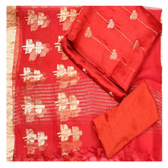 RED SILK SUITS,