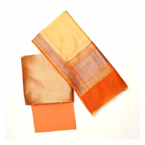 ORANGE COTTON SUITS