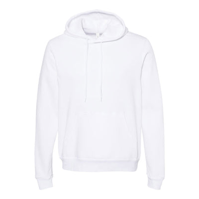 Bella Canvas Lightweight Hoodie [White] - TEST