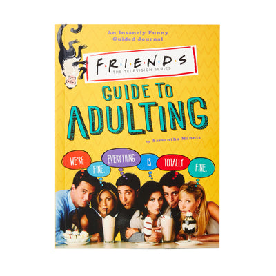 Friends Guide To Adulting Book The Friends Experience