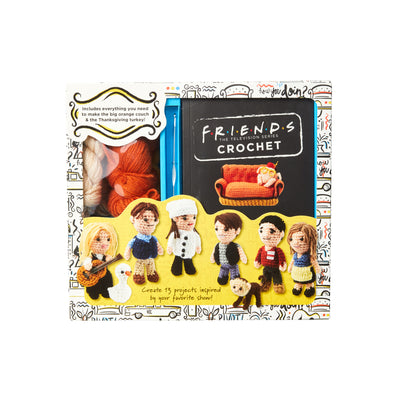 Friends™ Crochet Book & Kit The Friends Experience