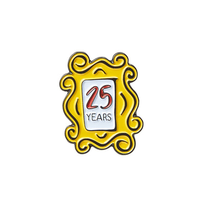 Friends Experience Frame Anniversary Pin