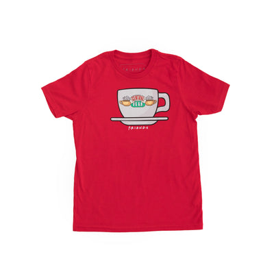 Friends Experience Central Perk Shirt Red Youth Kids