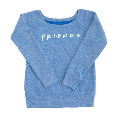 Friends Experience Sweatshirt Blue Womens