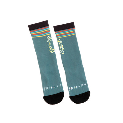 Friends Experience Frame Socks Unisex Green