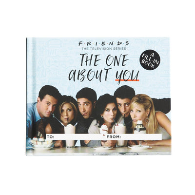 Friends The One about you fill in the blank book television