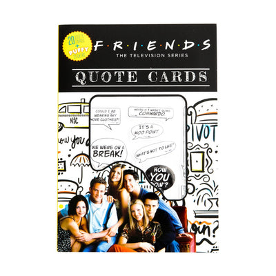 Friends Television Quote Cards Book