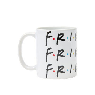 Repeat Logo Mug White - The Friends Experience