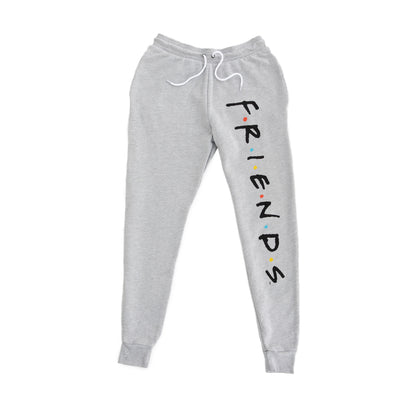 Friends Experience Logo Joggers Sweatpants Grey Unisex