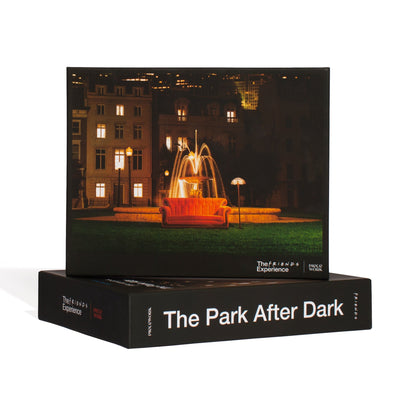 The FRIENDS™ Experience x Piecework Puzzles - The Park After Dark The Friends Experience