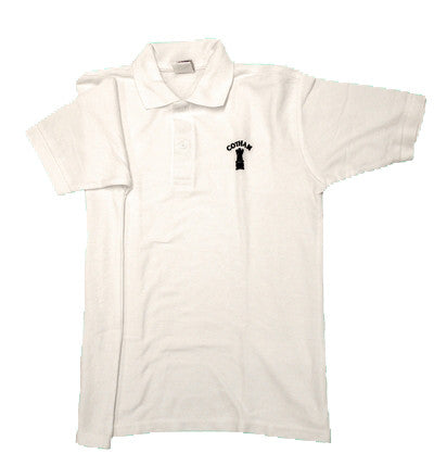 White School Embroidered Polo Shirt (CS)