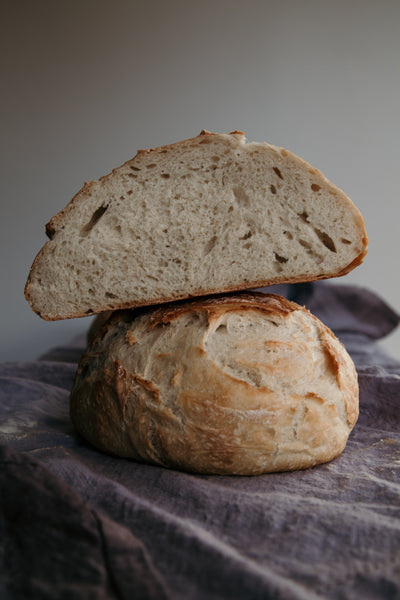 The Easiest Ever No-knead Crusty Loaf Bread