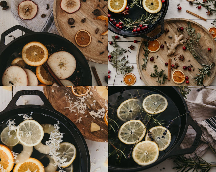 4 Natural Simmering Potpourri Recipes to use Year Round