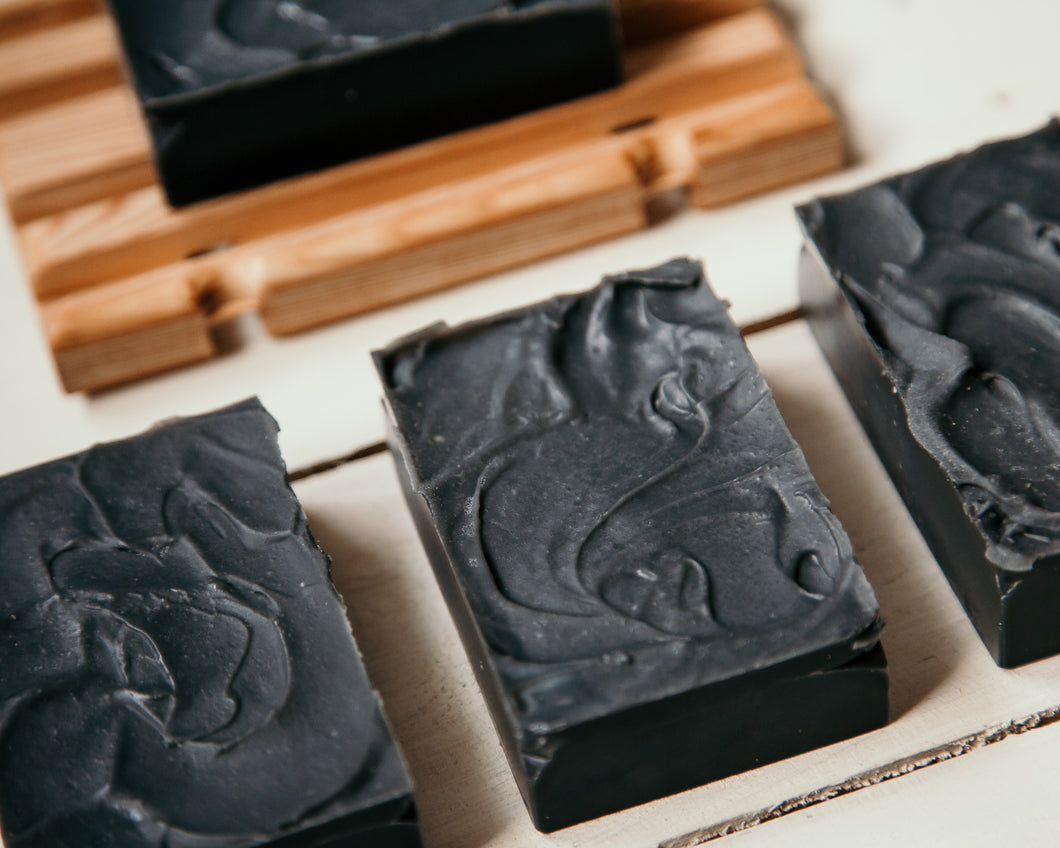 Tea Tree and Lavender Charcoal Face Bar