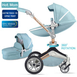 Hot Mom Baby Stroller 3 in 1