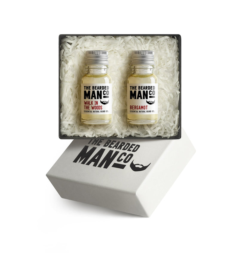 Boxed Gift Set of Two Beard Oils