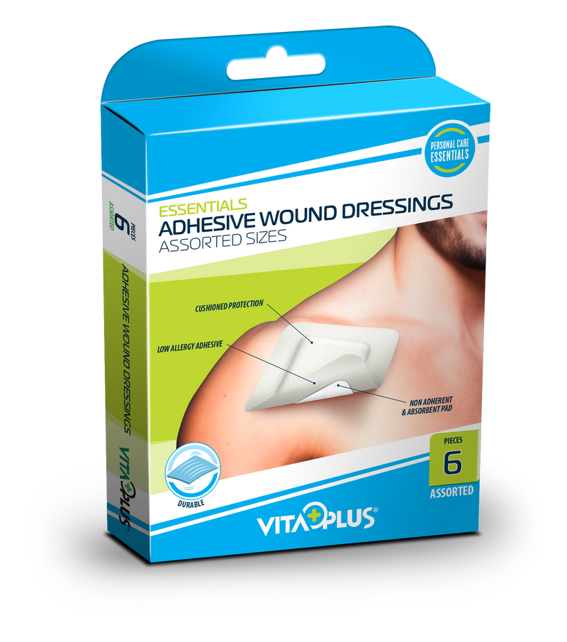 VP ADH Wound Dressing Assorted Size (6's)