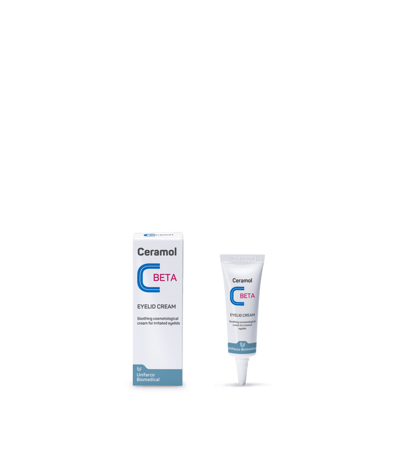 Ceramol Beta - Eyelid Cream - 10ml tube