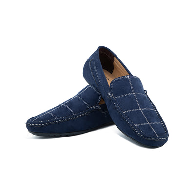 Checks Loafer (blue)