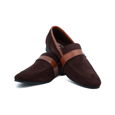 Strap Slip-ons (Brown)