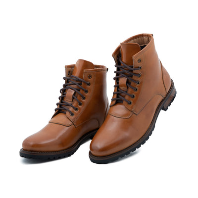 High - Top vegan Leather Boots
