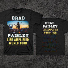 Load image into Gallery viewer, Life Amplified Tour T-shirt - Black