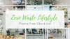 Zero Waste Lifestyle Plastic Free Check List