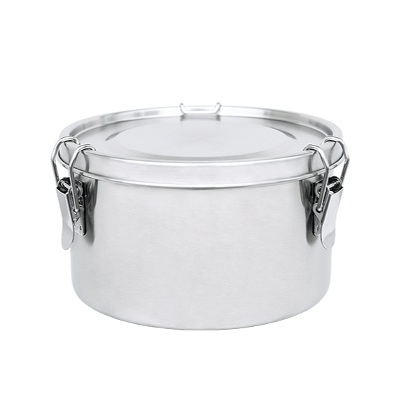 Food Container Stainless Steel Round 780 ml