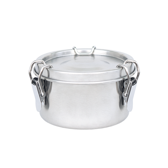 Food Container Stainless Steel Round 480 ml