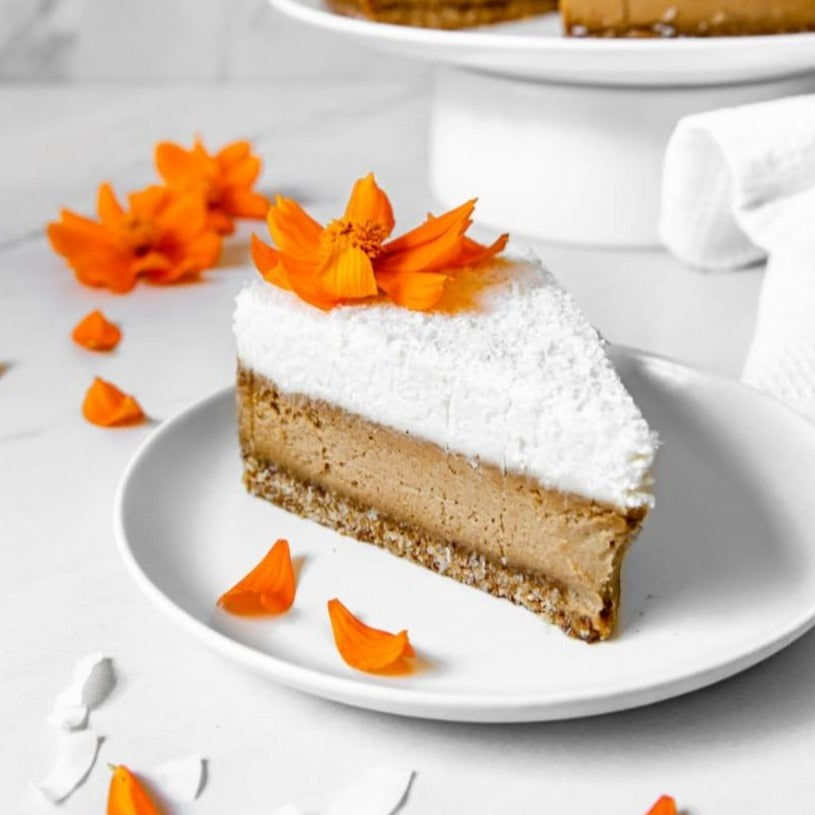 Salted Caramel and Coconut Cheese Cake Peace of Cake / Each - Zero Waste Bali