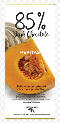 Chocolate BK - Pepitas 50 gram