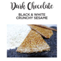 Chocolate BK - Black & White Crunchy Sesame 50 Gram
