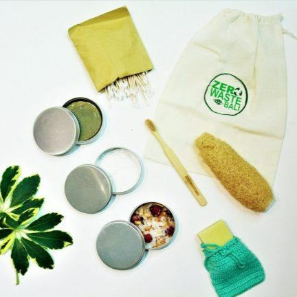 ZERO WASTE BATH & BODY KIT - Zero Waste Bali