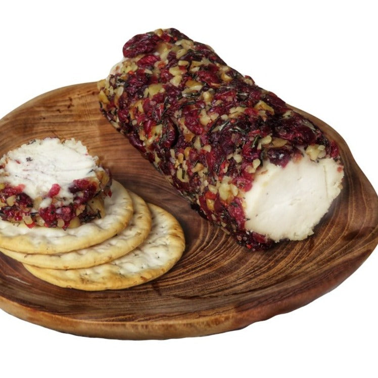 Vegan Cranberry Chevre Cheese 230g / Each - Zero Waste Bali