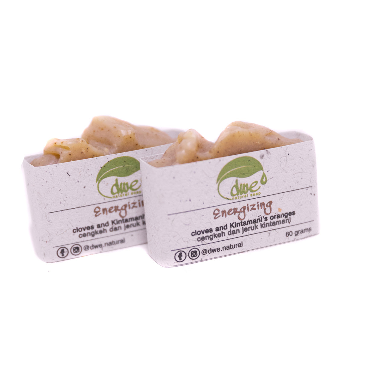 Energizing Soap Bar 60g/Each