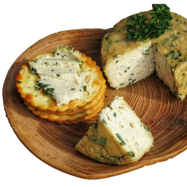 Vegan Boursin-style, garlic & herb Cheese 165g / Each - Zero Waste Bali