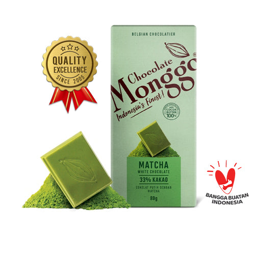 Chocolate M-Matcha Tea Tablet 80 gram